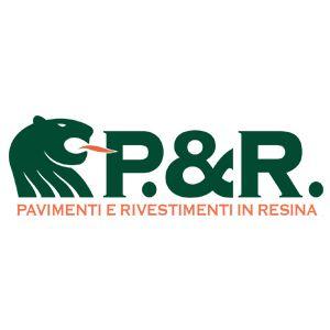 logo P & R  - Pavimenti e Rivestimenti in Resina